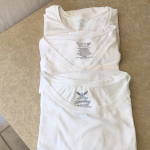 3 White Tee Shirts, all Size 3X